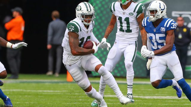 The New York Jets have released injured wide receiver Terrelle Pryor on  Saturday. Pryor has a tear in his groin but is expected to return in a few  weeks. dbb1a4eb5